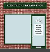 electrical repair shop