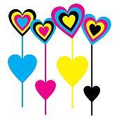 CMYK Lollipops this Valentine seaso