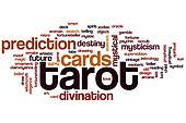 Tarot word cloud