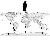 Penguins range
