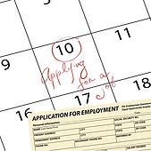 Meeting date for employment