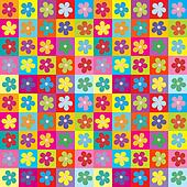 Floral wrapping paper seamless pattern