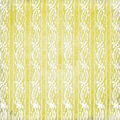Abstract yellow background with lace for design