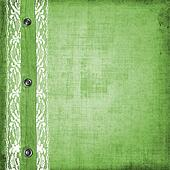 Abstract green jeans background with rivet for design
