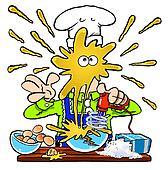 Crazy Cook. WBG.
