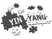 3d YinYang jigsaw