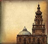 Vintage Church Background