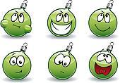 Green Ball-Balls
