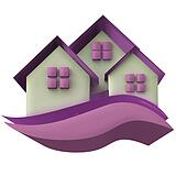 Houses icon 3D image