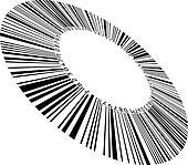 Circular bar code
