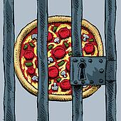 Pizza in Prison