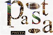 Italian Food. Collage