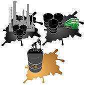 Mining, processing and transportation of oil