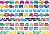Children\'s wooden toy train