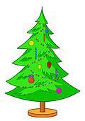 Fur-tree Christmas