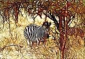 Artistic Impression Zebra