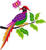 creative bird illustration