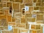 Golden Stone Wall Background