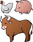 Domesticated Animal Set