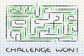metaphor maze design: challenge won!