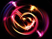 Glowing Vortex