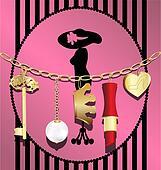 woman\'s chain