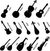 Musical Instruments Set No.1.