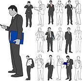 Business Men Group Set 02