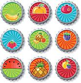 fruity bottle caps 3