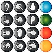 Button Hand Sign
