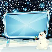 Xmas Ice Billboard