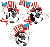 American cartoon ball