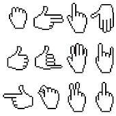 Pixel Hands