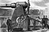 The Moncrieff Seven Ton Gun Carriage
