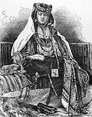 Nail Arab Woman
