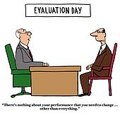 Performance Review Stock Illustrations - Royalty Free - GoGraph