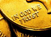 Gold Coins and Bullion In God We Tr