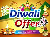 diwali offer background