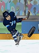 Winnipeg ice hockey player