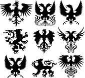 griffin heraldic element