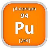 Plutonium material sign