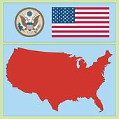 national attributes of USA