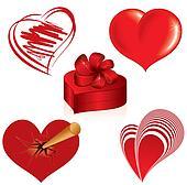 Hearts Set #1