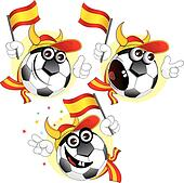 Spanish cartoon ball