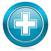 pharmacy blue icon