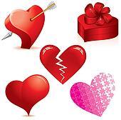 Hearts Set #2