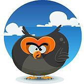 Owl Cartoon Character