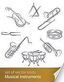 set musical instrument