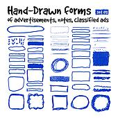 Hand-drawn forms