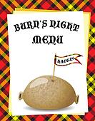 Burn\'s Night menu